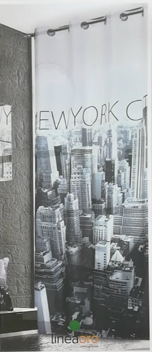 Pannello di New York misura 140x280 con borchie Riviera Home Collection